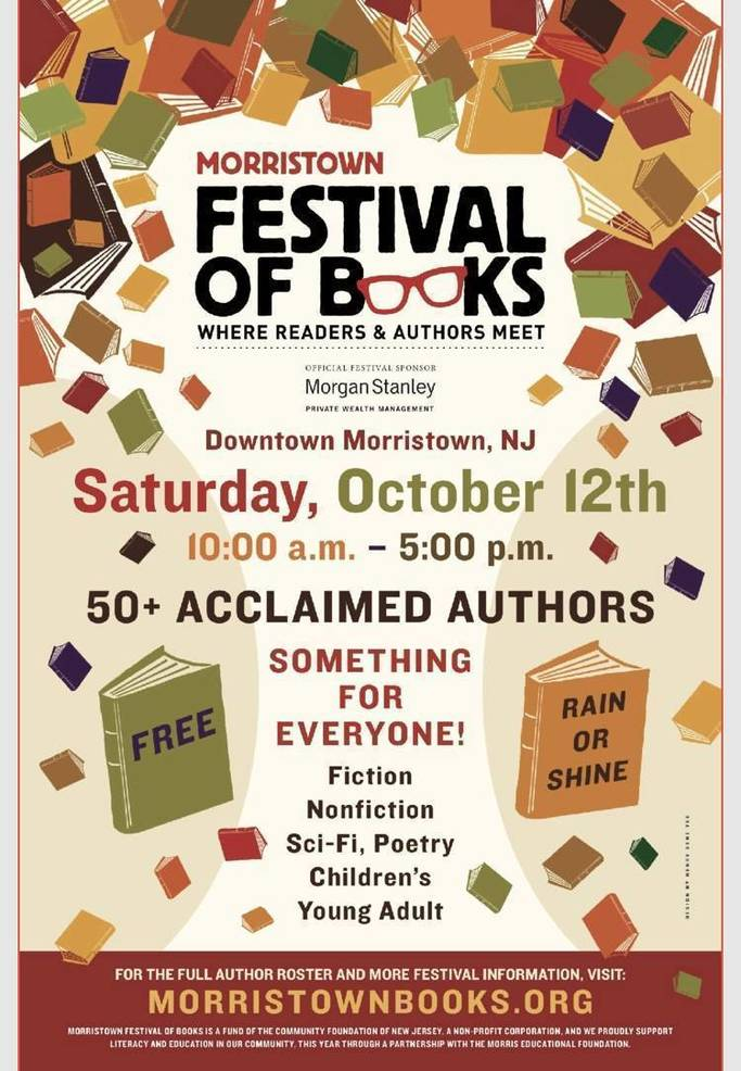 Morristown Festival of Books is 31 Days Away! | TAPinto
