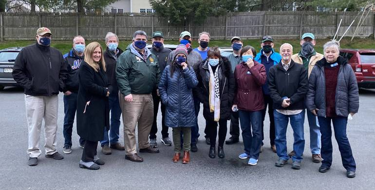 New Providence Lions Club Has 'Sights' on Post Pandemic Times; Hosts First In-person Meeting in a Year
