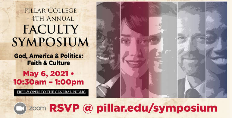 Faculty Symposium at Pillar College on May 6th