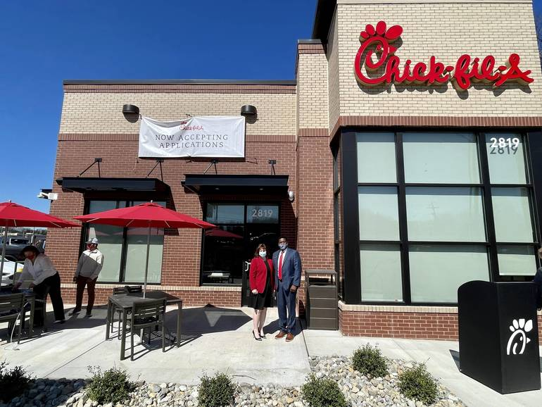 VIDEO: No April Fooling! Today is Hazlet Chick-Fil-A  Day! Grand Opening Celebrated With Ribbon Cutting.