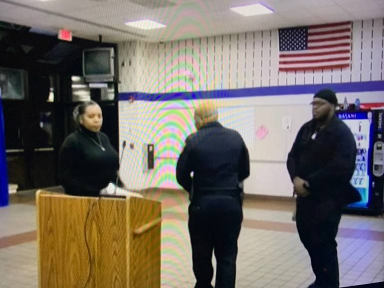 Officer Called on Black Parents Speaking in Montclair