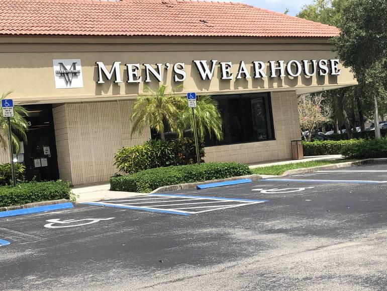 Men's Wearhouse: Latest National Retailer With Coral Springs Location Files For Bankruptcy