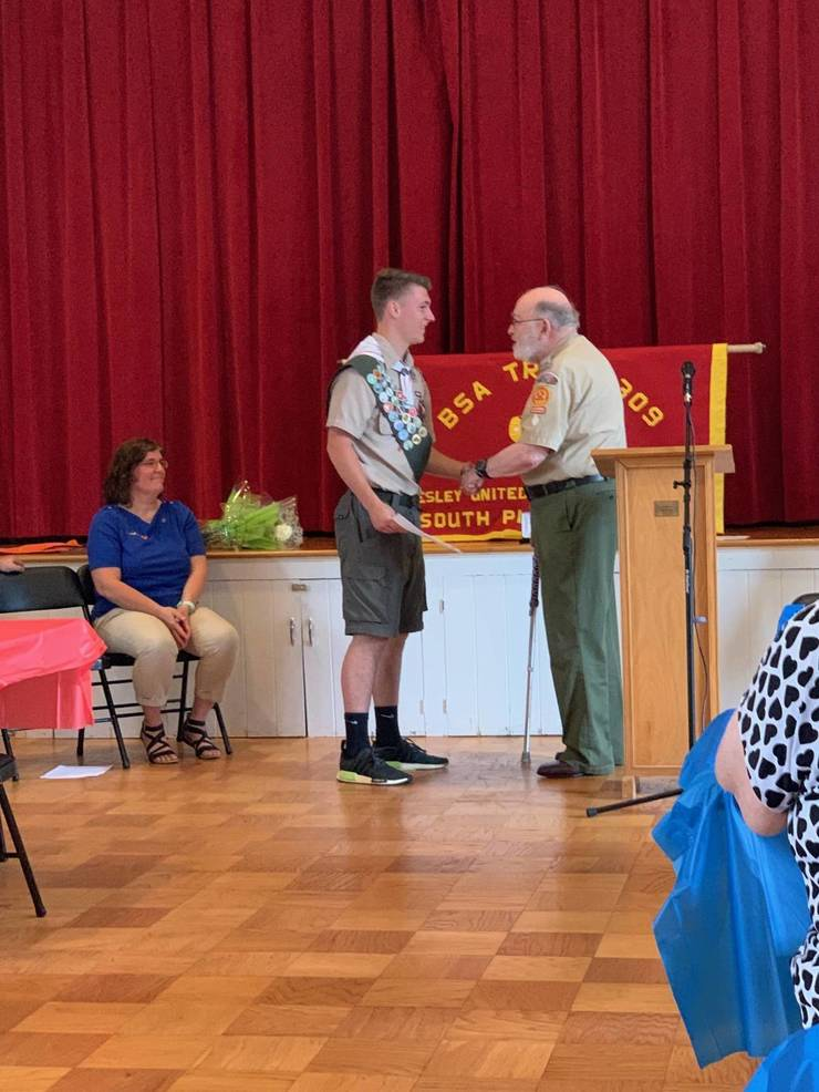 Kyle Griswold Becomes Troop 309's 49th Eagle Scout