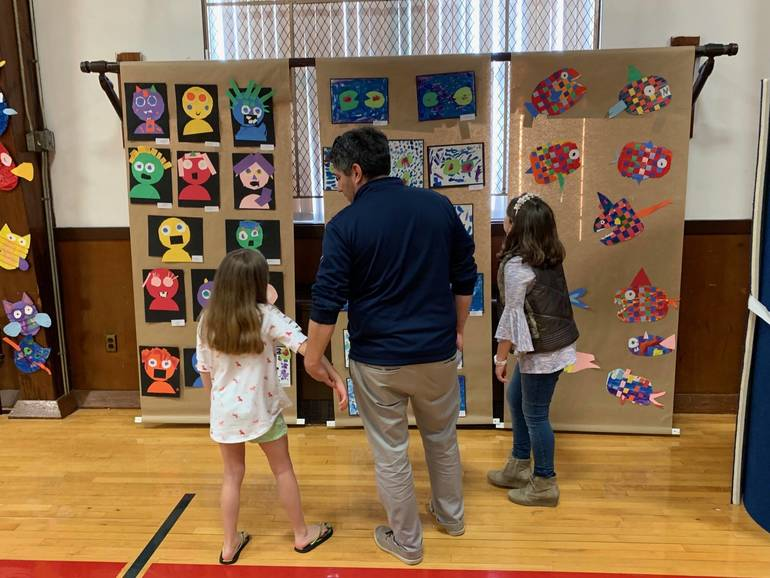 Holy Savior Academy Holds Annual Art Exhibition