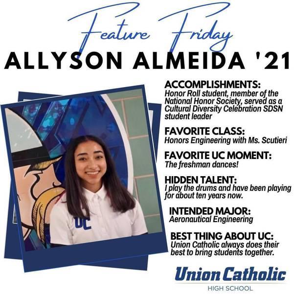 Union's Allyson Almeida Has Made a Huge Impact at Union Catholic