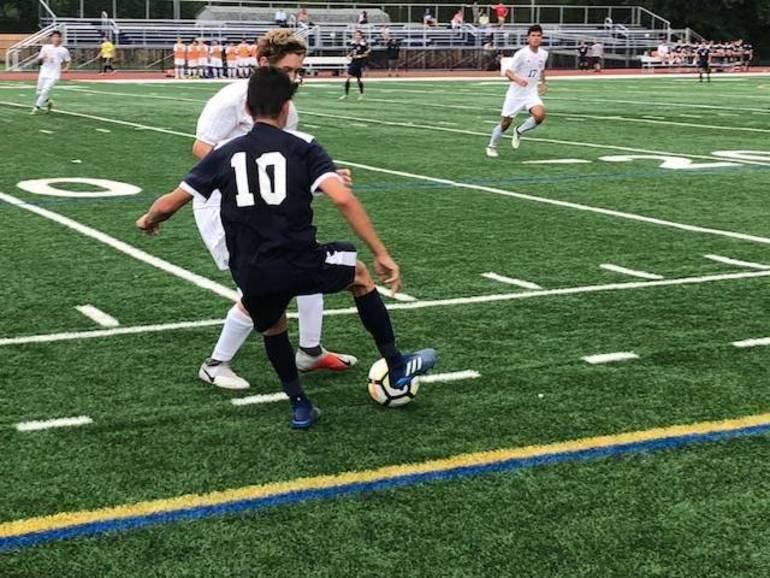 Robertson, Suter, Kripzak, Defense Power Undefeated Chatham Boys Soccer Past Morris Knolls, 2-0