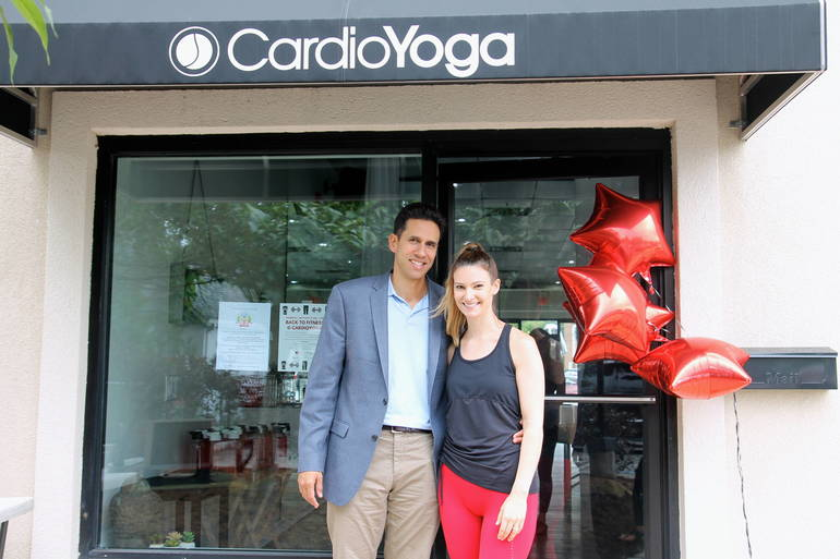 West Orange Couple Opens CardioYoga Studio in Livingston