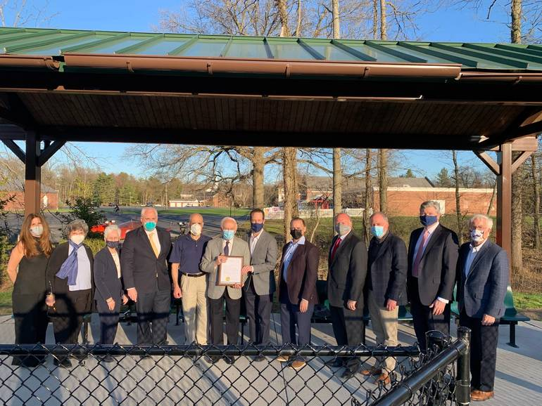 Livingston Council Honors Roseland Resident, Saint Barnabas Executive Louis LaSalle Upon Retirement
