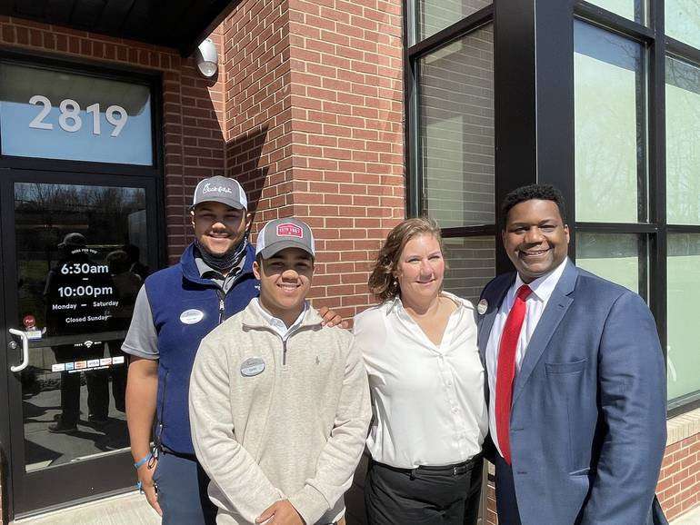 VIDEO: No April Fooling!  Chick-fil-A  is Open Near You! Grand Opening Celebrated With Ribbon Cutting.