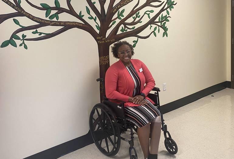 Chrystal Samuel is a teacher at Renaissance Charter School at Coral Springs.