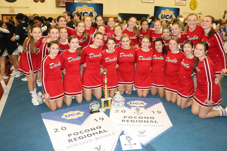 Jr Red Devils Win UCA Pocono Regional Championship