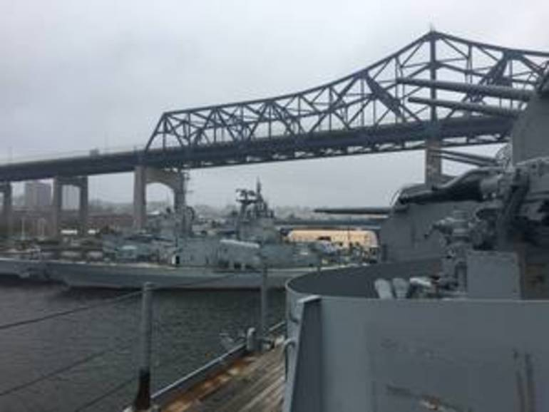 Fall River, MA:  Battleships and Submarines