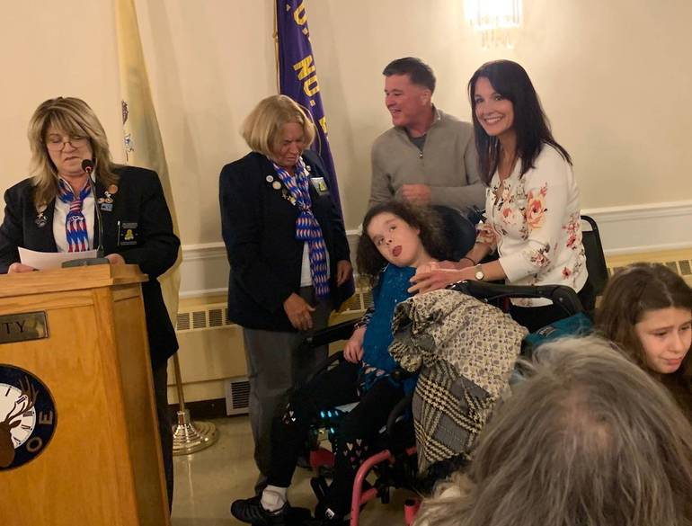 Brianna Feeney Selected as Alternate Ambassador for New Jersey State Elks Association Special Children's Committee