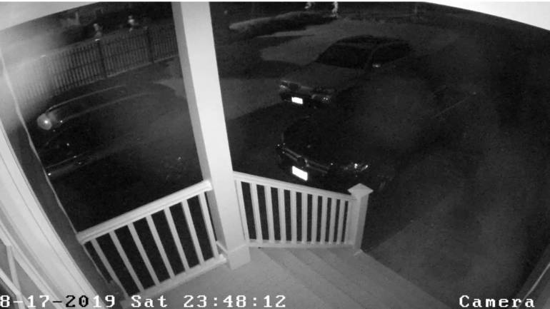 A Car Was Vandalized Car in Chatham Township