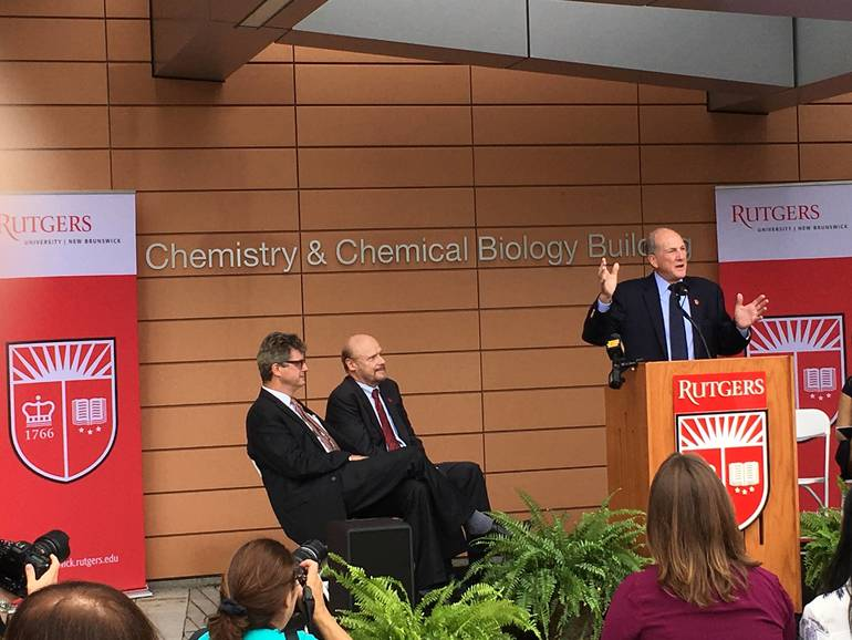 $115M Rutgers Chemistry Building Formally Opens