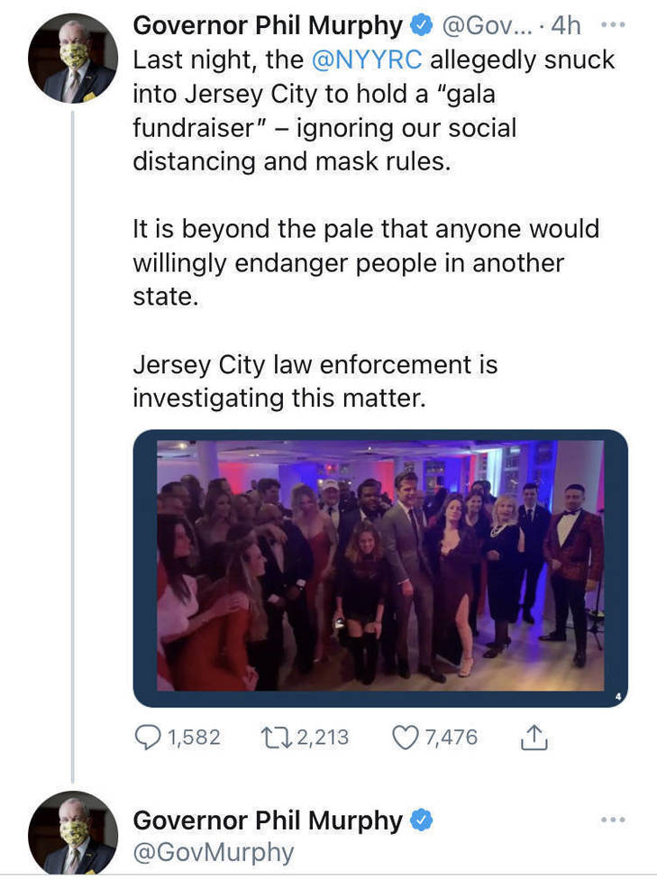 Young NYC Republican Gathering Leads to Closure of Jersey City Restaurant