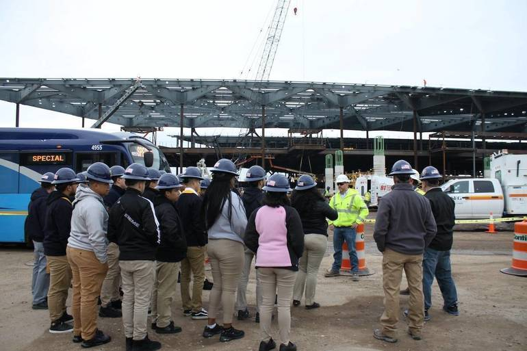 Trades Students Exposed to the Field