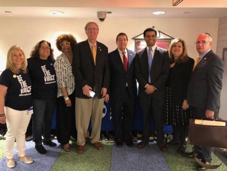 NJ Legislators with NJ AFSP Advocates