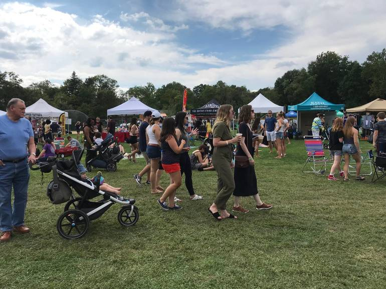 Hundreds Turn Out for Morristown's 1st Annual Food Truck Fest