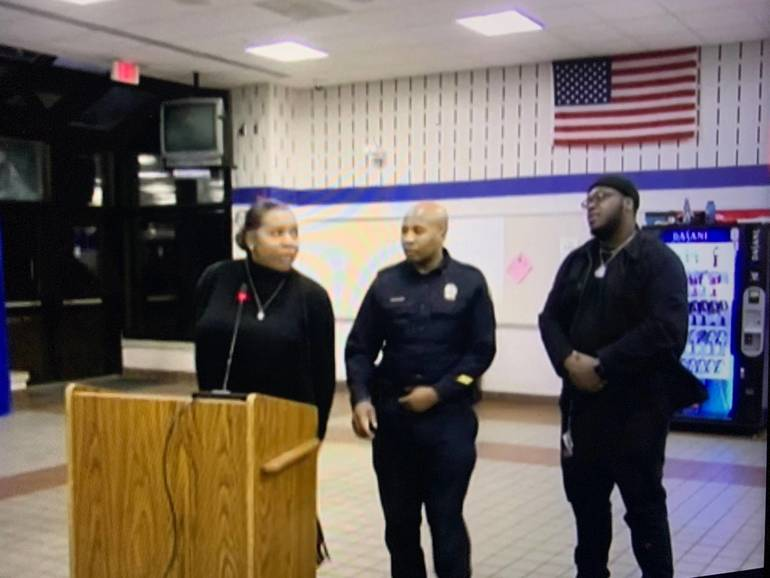 Officer Called for NIBPA Speaking in Montclair