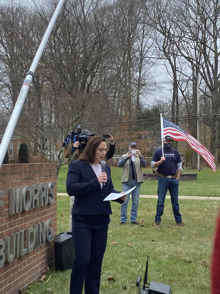 Florham Park's Mayor Attends 'March for Your Rights' Event in Morris Township