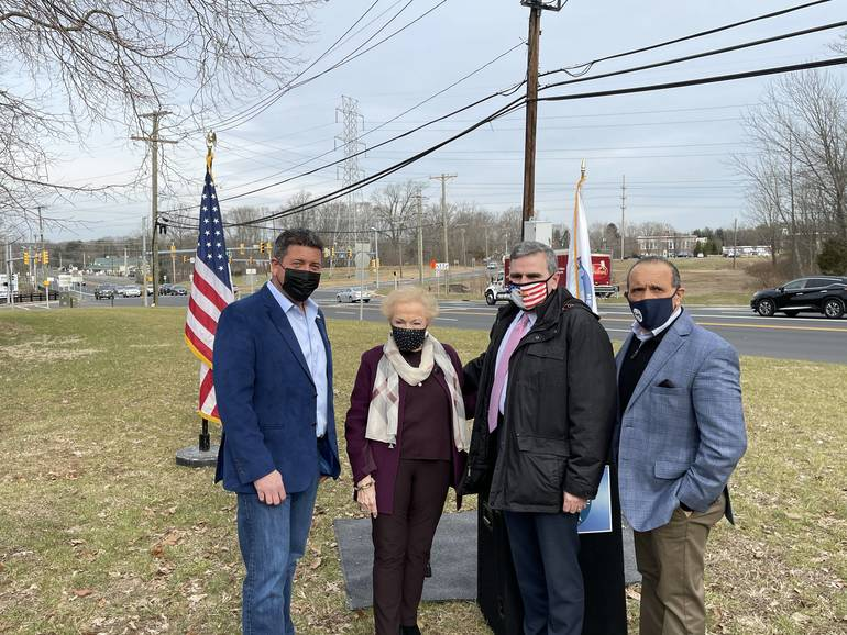 Persistence of Vision: A Completion of State Route 34 and County Route 537 Intersection. Project Spearheaded by County Commissioner Lillian Burry.