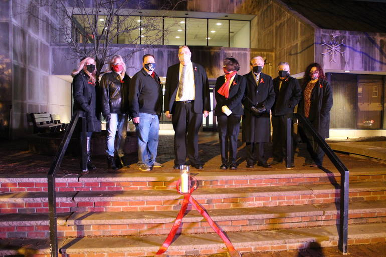 World AIDS Day Officially Recognized for the First Time in Hawthorne