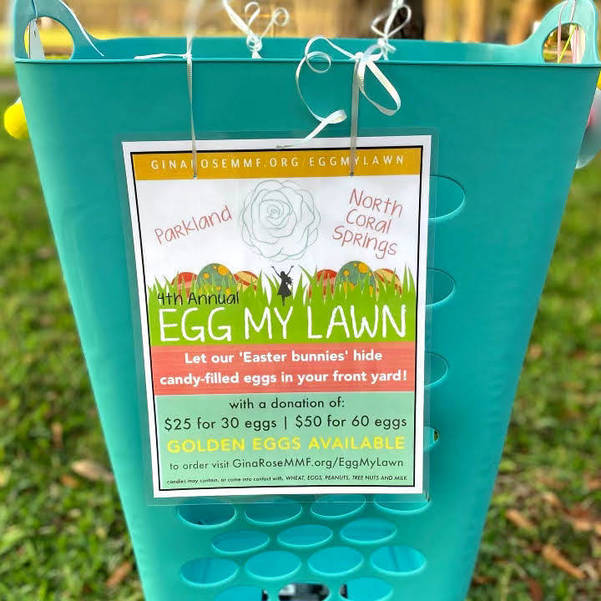 """Gina Rose Montalto Memorial Foundation Hosts 4th Annual """"Egg My Lawn"""" Event"""