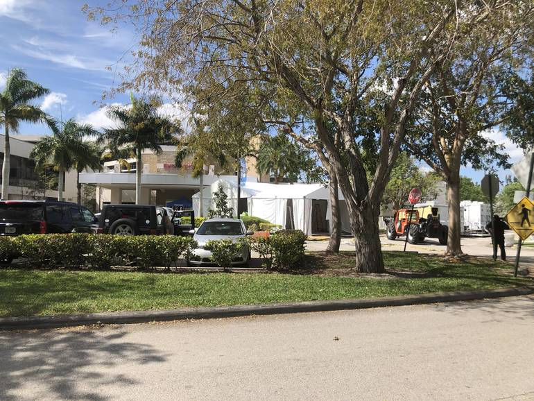 Coral Springs Hospital Set Up Triage and Brought in More Staff and Ventilators