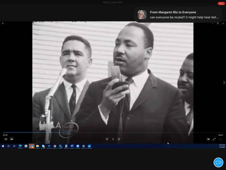 Berkeley Heights Celebrates Dr. Martin Luther King, Jr. Day on Zoom