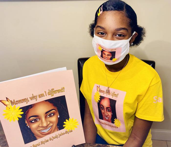Franklin 7th Grader Embraces Differences in Self-Published Book