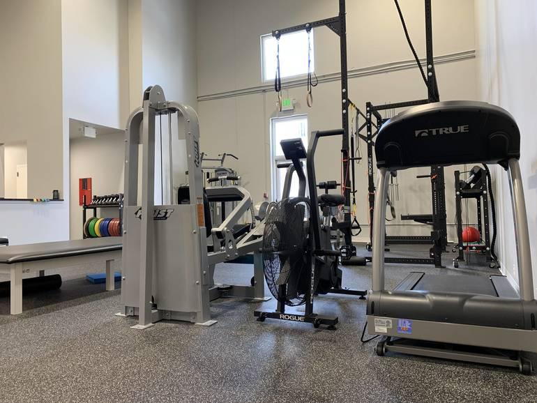 Rehab Gym Area