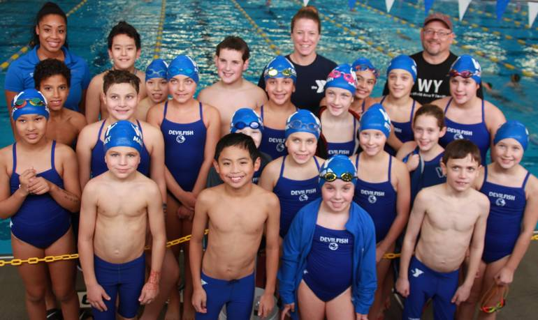 Westfield Area YMCA Devilfish Have Strong Swims at BAC Treasure Island