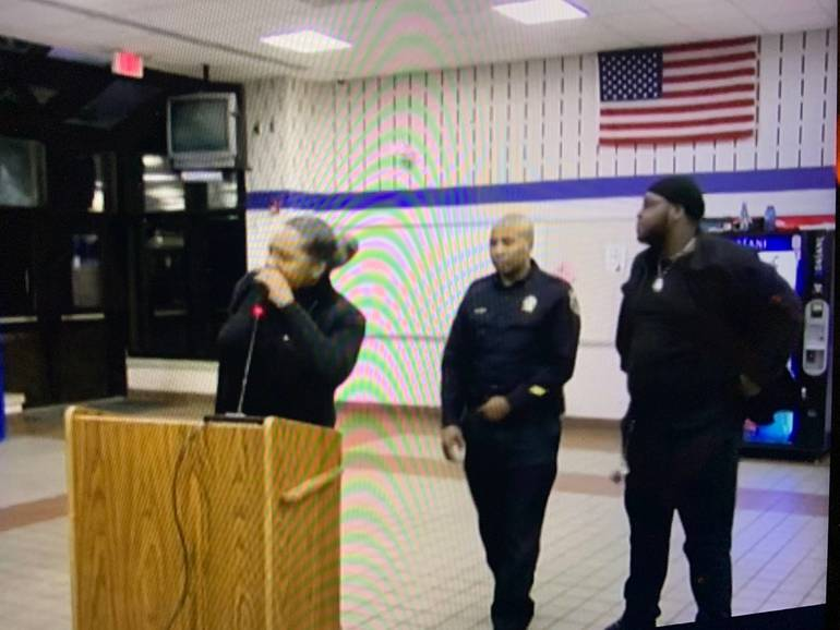 Officer Called for Black Parents Speaking in Montclair
