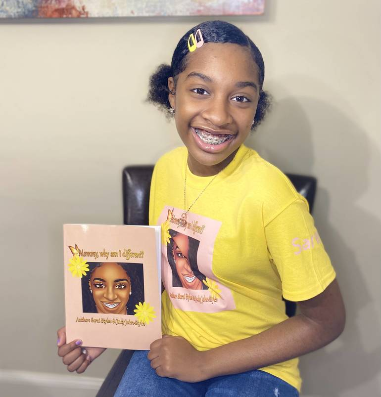 Franklin 7th Grader Sarai Styles Embraces Differences in Self-Published Book