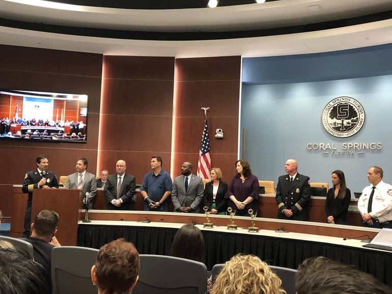 Coral Springs Recognized Award-Winning Documentary on Fighting Cancer in Fire Service
