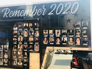 Newark Police Honor Fallen Officers in 2020
