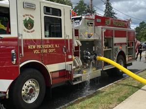 Firefighters Called to 2 Fires in 3 Days in New Providence; Chatham Firefighters Also Respond to Calls