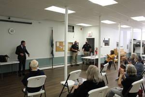 Bergen County Prosecutor Addressed Glen Rock Seniors on Avoiding Scams