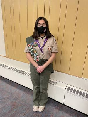 Sparta Eagle Scout Brianna Conlon Builds Little Free Libraries