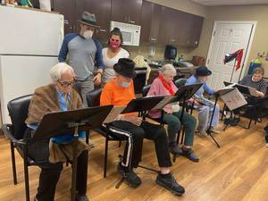 """""""Broadway"""" Is Back in Paramus at Juniper Village with Support from Fair Lawn's Old Library Theater"""