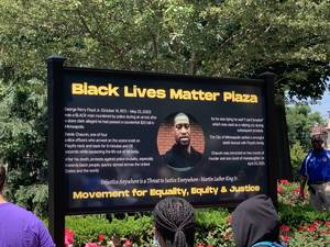 Scenes from Plainfield's Dedication of Black Lives Matter Plaza (Video)