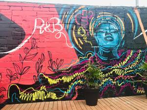 Newark Artist Creates Musical Mural for the North Ward Community