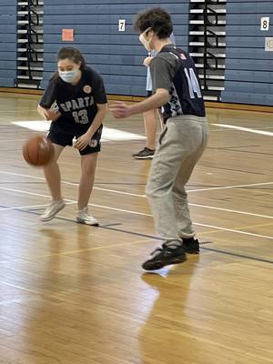 Sparta's Unified Basketball Squad Gets Ready for Their Season