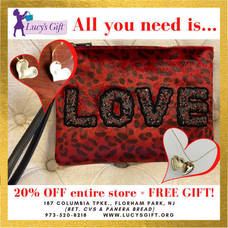 Lucy's Gift Valentine's Day Special; 20% Off Entire Store Plus Free Gift with Purchase