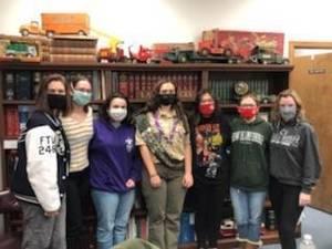 Seven Girls in Sparta Boy Scout Troop Making History Earning Eagle Rank