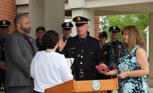 Newton Police Department Promotes Scott King to Lieutenant