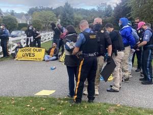 Gottheimer Protesters: Arrested Outside His Home; Disrupt Federal Government Glen Rock Business Visit in September