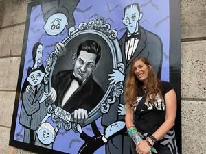 Westfield NJ Addams overpass art