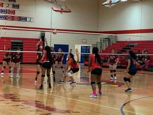 Girls Volleyball: Plainfield Cardinals Celebrate Senior Day with Win Over Roselle Park